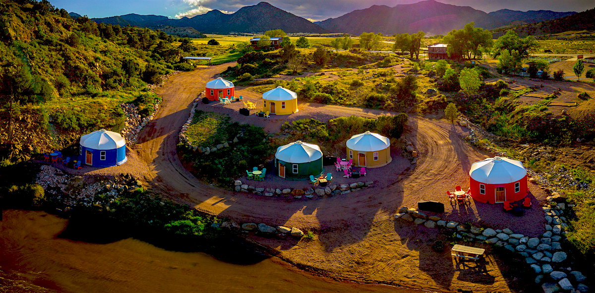 Royal Gorge Yurt Rentals in Colorado